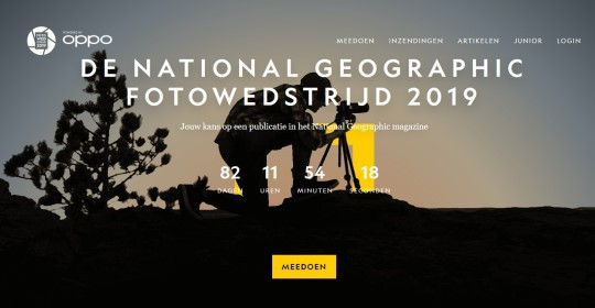 National Geographic Fotowedstrijd