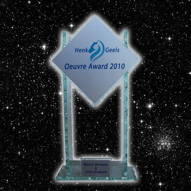 Oeuvre Award